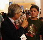Mendengar penjelasan dari Mr Michiyuki Kohno