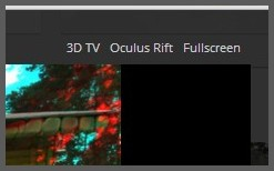 opsi 3D TV dan oculus rift