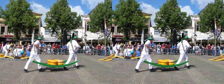 Alkmaar - Kaasmarkt, Holland